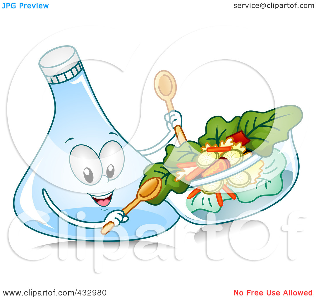 Tossed Salad Clipart Have Some Salad With Science
