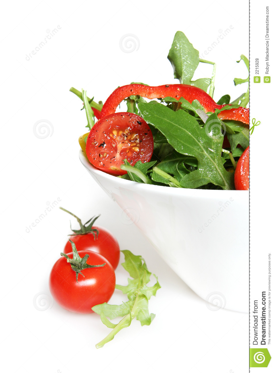 Tossed Salad Royalty Free Stock Photos   Image  2215928
