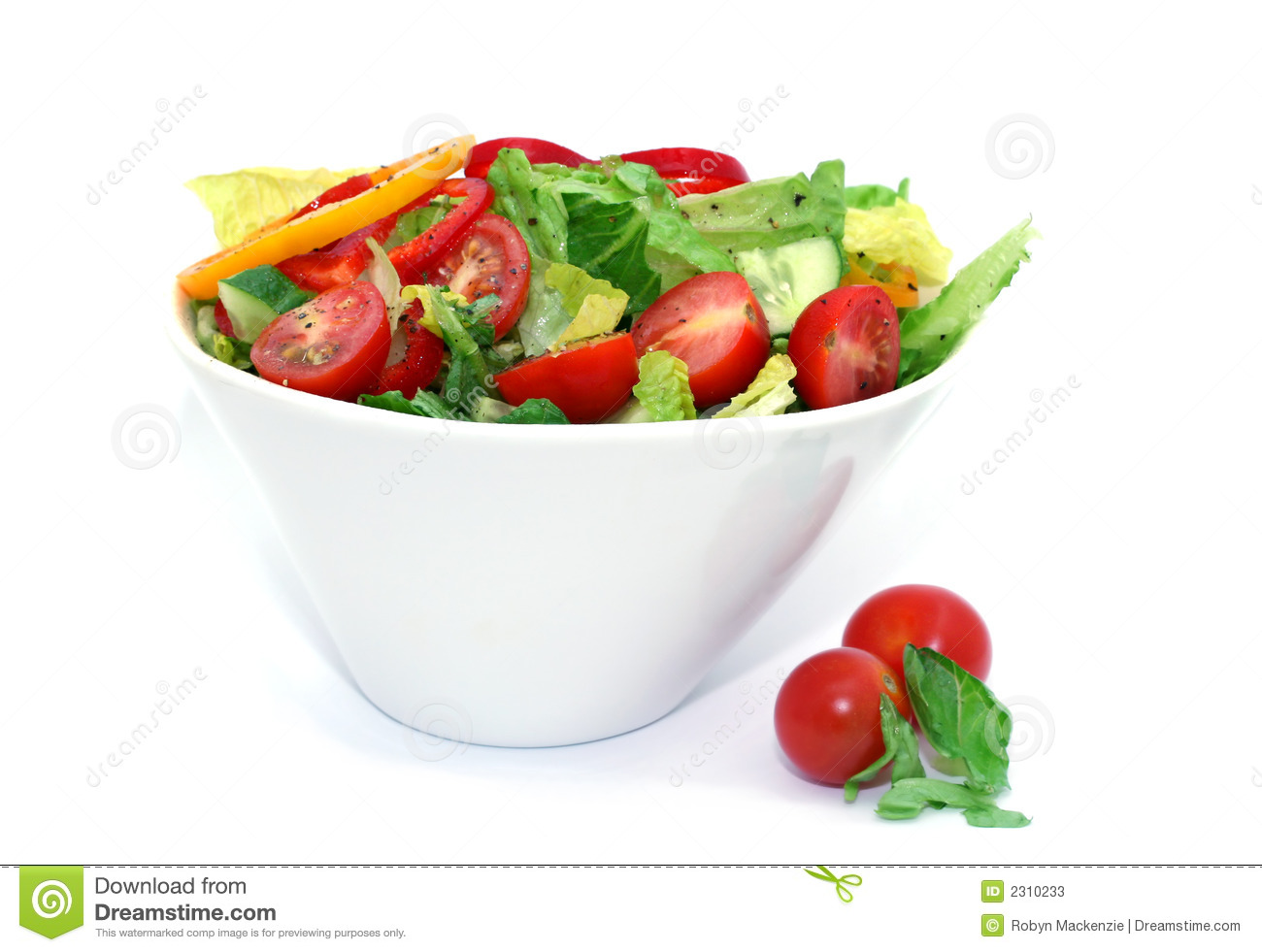 Tossed Salad Stock Photos   Image  2310233
