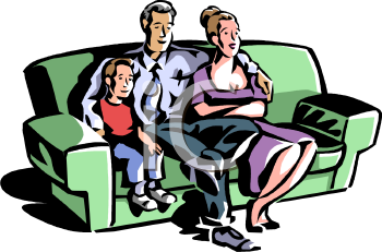 Woman Watching Tv Clipart   Clipart Panda   Free Clipart Images