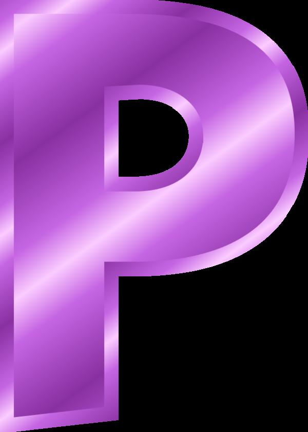 Large Letter P Clipart