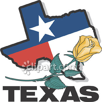 Texas Yellow Rose Clipart - Clipart Kid