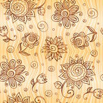 Decorativedesigndoodleeleganceelegantelementfabricfloralflower