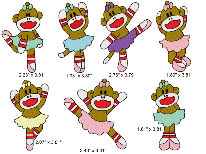 Free Sock Monkey Clipart