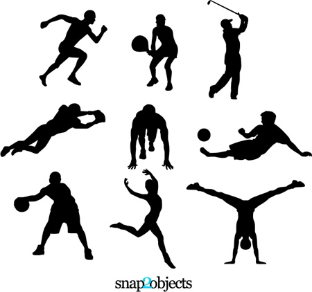 All Sports Outline Clipart - Clipart Kid