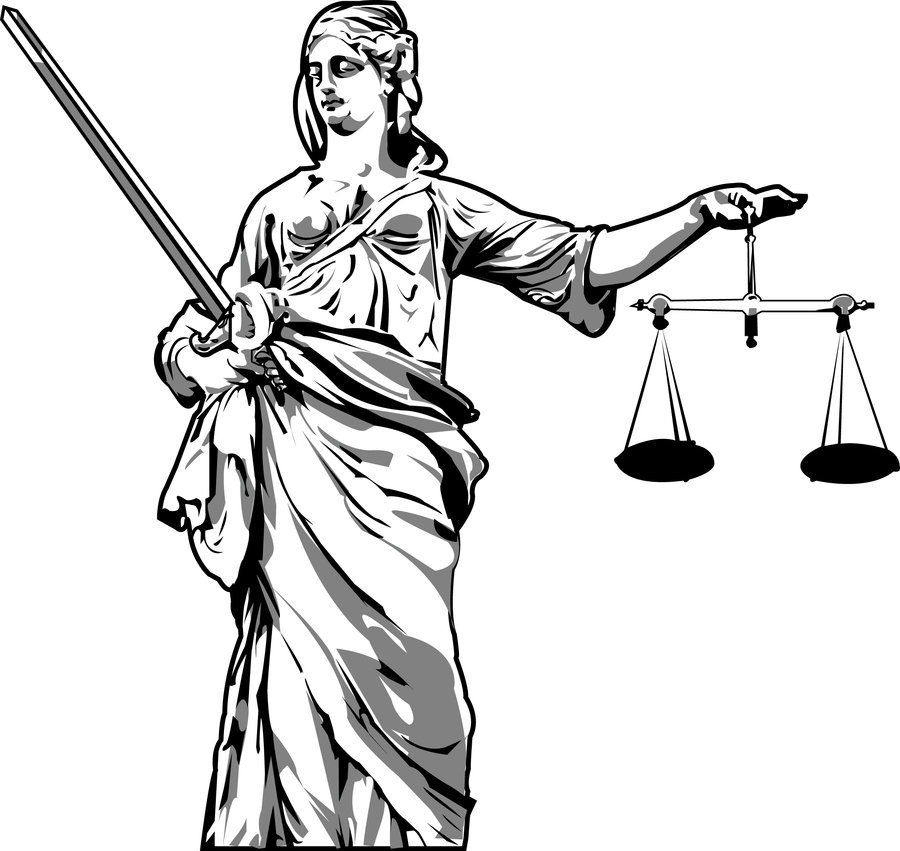 Lady Justice Vector   Clipart Best