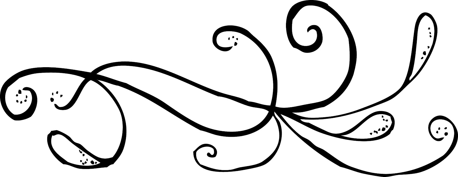 Swirl Line Design Clipart : Swirly lines clipart suggest