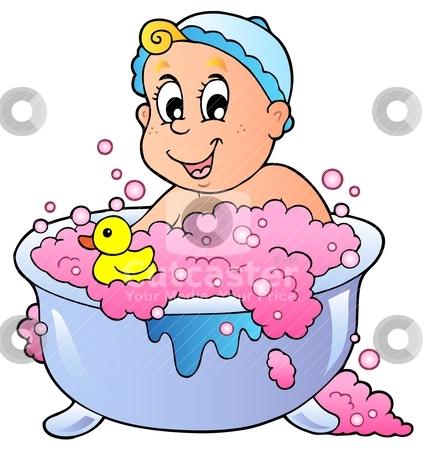 Toddler Bath Clipart - Clipart Suggest