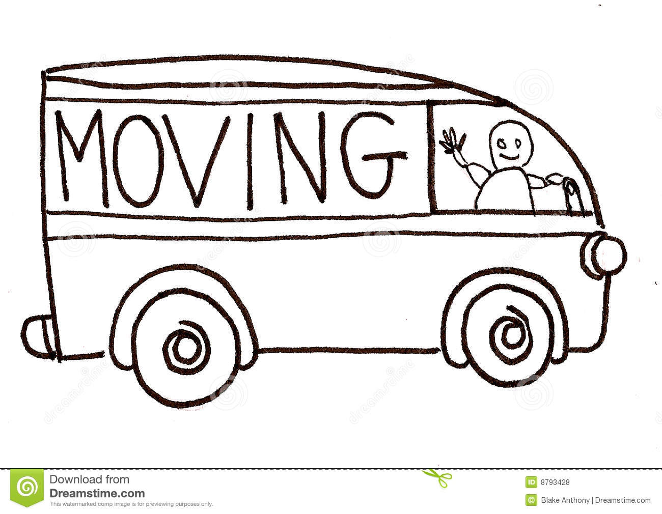 Moving Clip Art Gallery