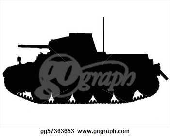 Clipart   Ww2   Tanks  Stock Illustration Gg57363653