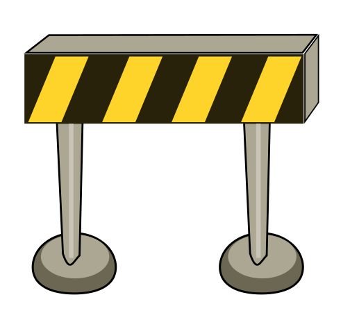 Barrier clipart suggest