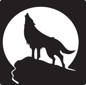 Howling Wolf Clip Art   Vector Clip Art Online Royalty Free