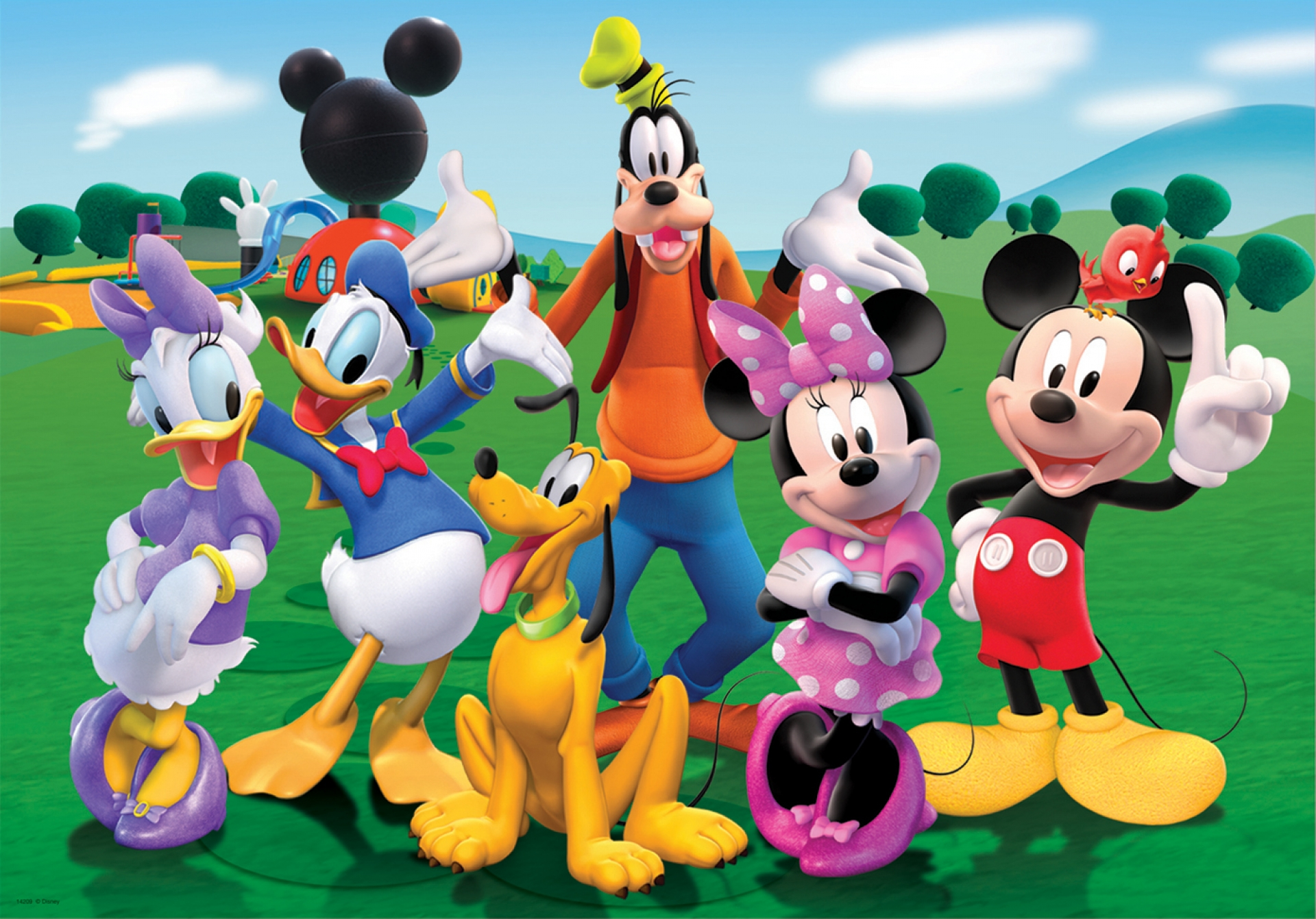 Image result for mickey mouse clubhouse characters names