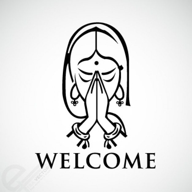 Namaste Yoga Clipart - Clipart Suggest