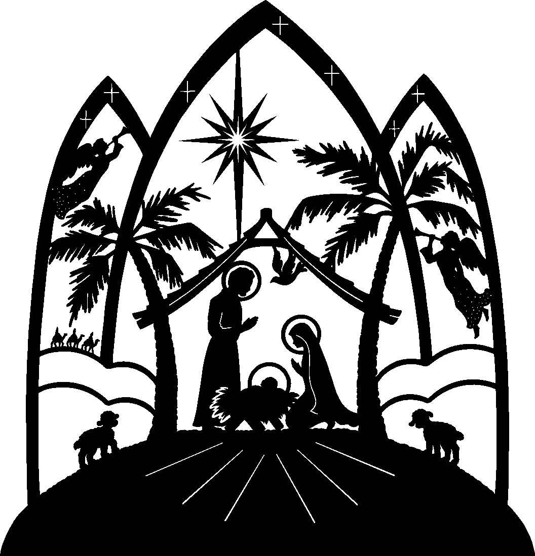 Nativity Clipart Black And White   Clipart Panda   Free Clipart Images