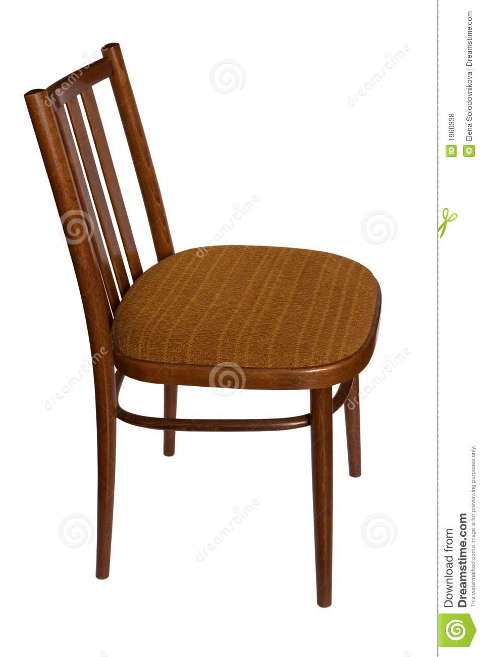 Ordinary Chair Side View  Royalty Free Stock Photos   Image  1960338