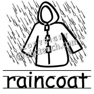 Rainy Clipart Black And White