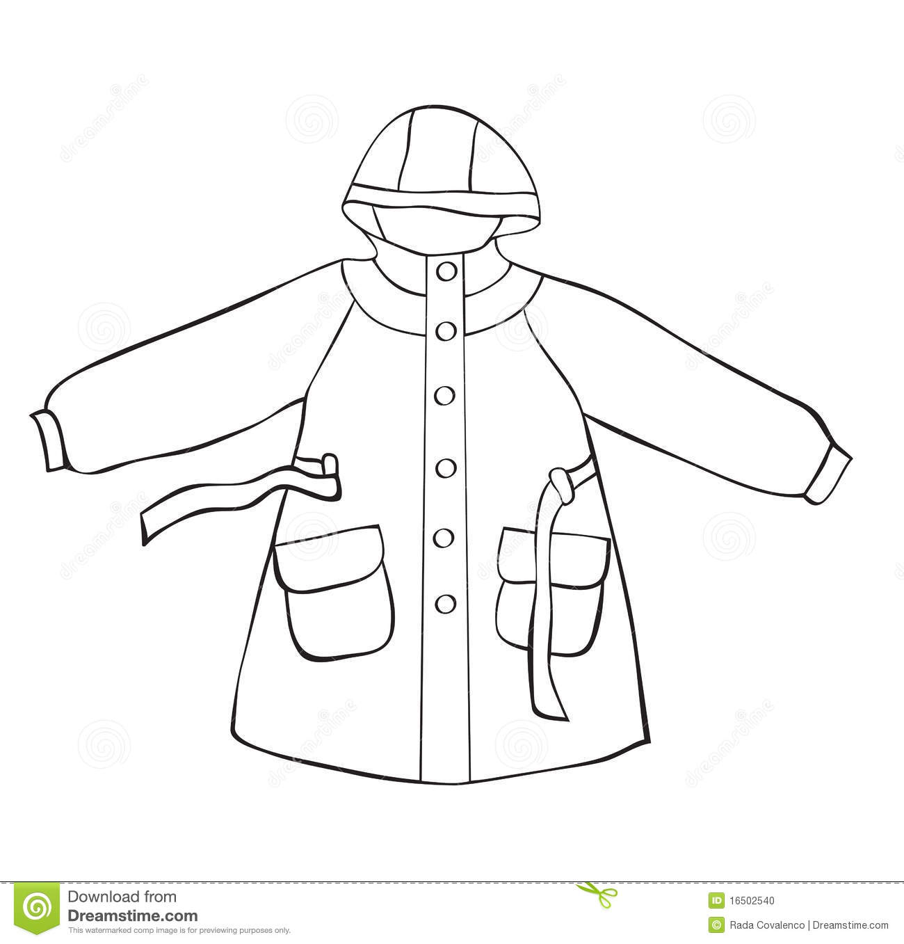 Rain Coat Stock Photo   Image  16502540