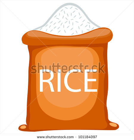 Rice Bag Clipart Rice Bag Clipart