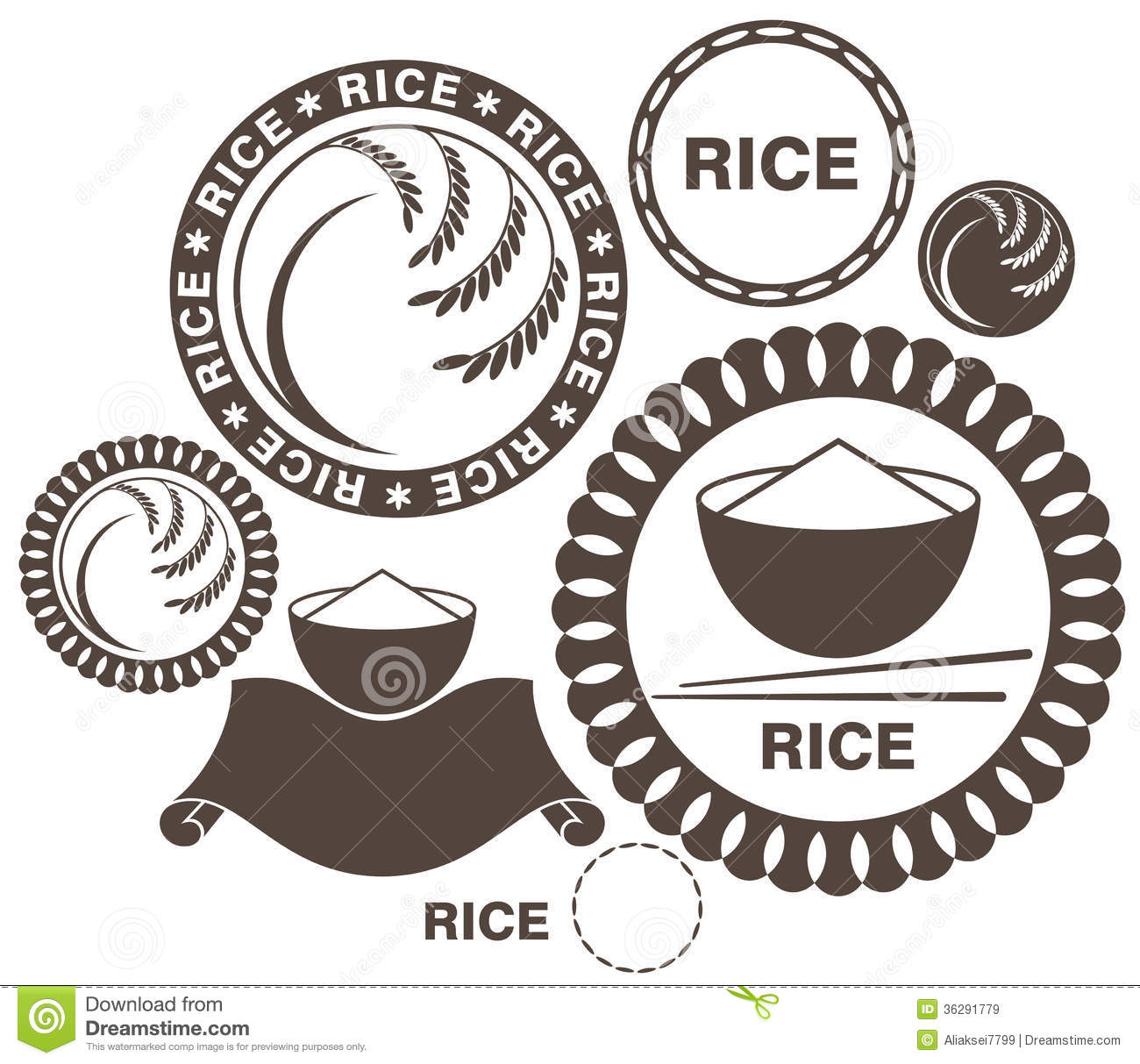 Rice Clipart Rice