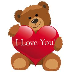 Teddy Bears Valentine Images More Cute Cartoon Love You Valentines