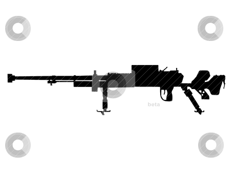 Ww2   Infantry Anti Tank Gun Stock Vector Clipart Ww2 Series
