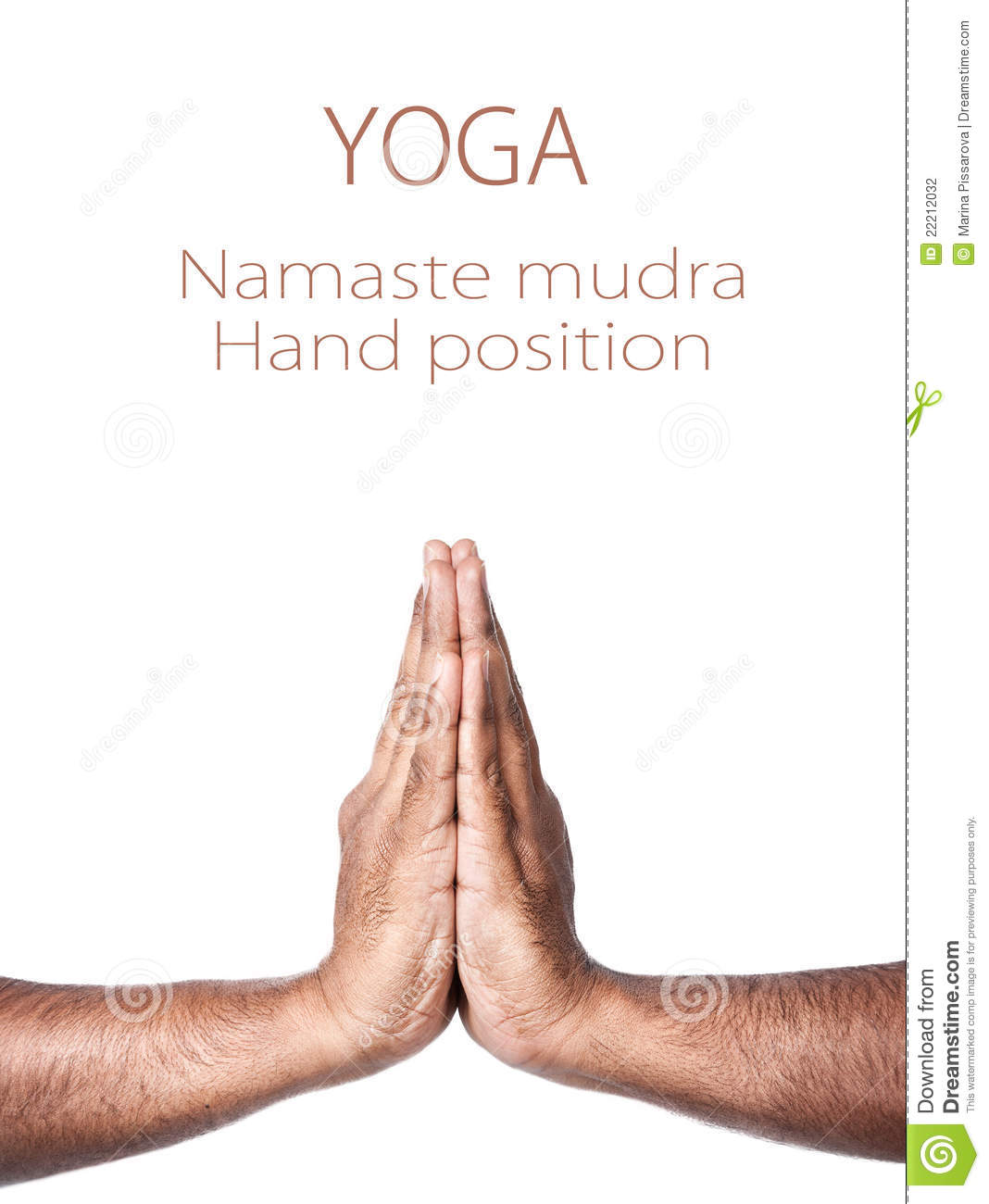 Yoga Namaste Prayer Mudra Stock Photography   Image  22212032