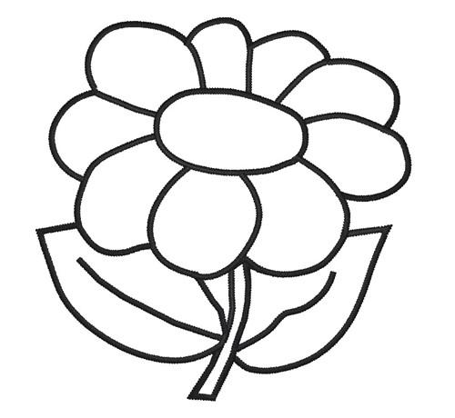 Раскраски для девочек цветы - 8
