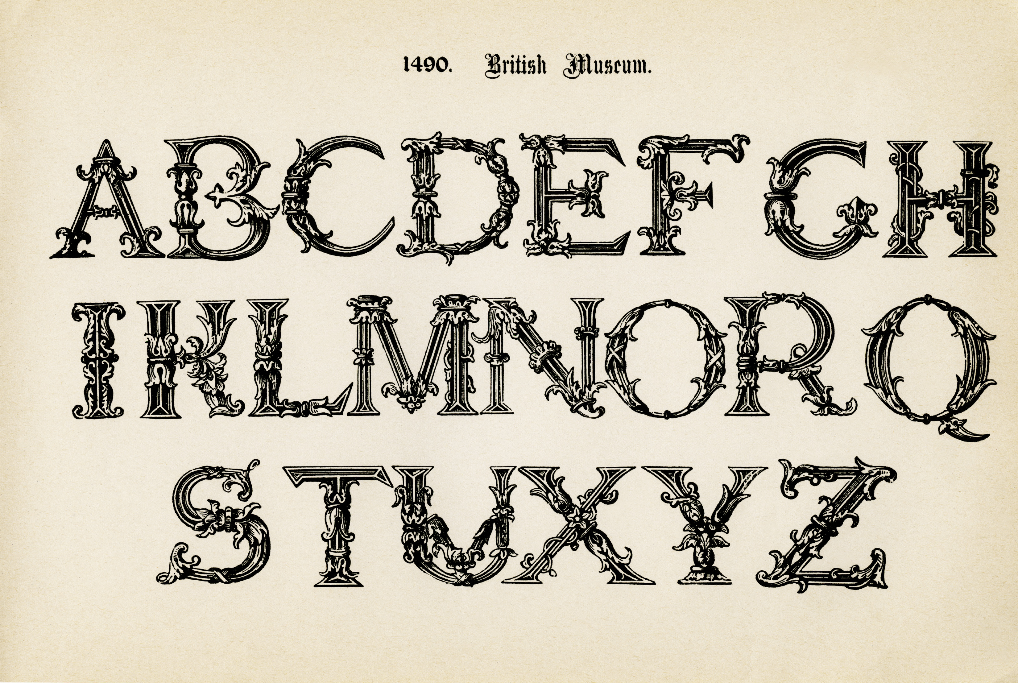 Printable Alphabet Letters Clipart - Clipart Kid