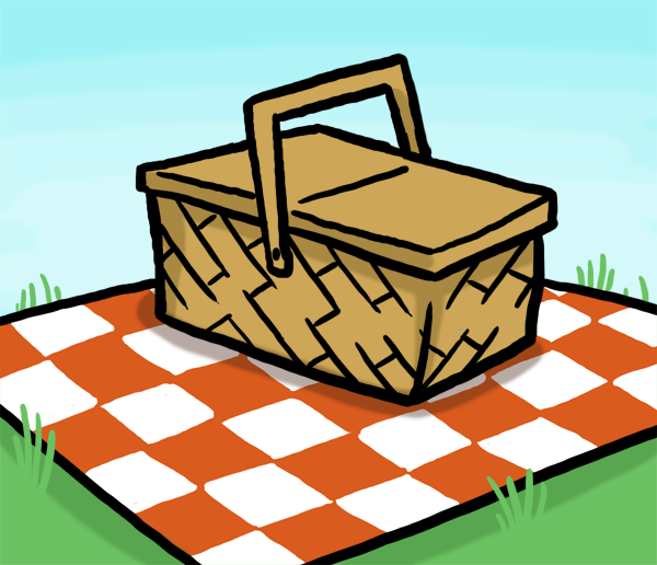 Blanket Royalty Free Clipart Picture Picnic Table Clip Art Picnic