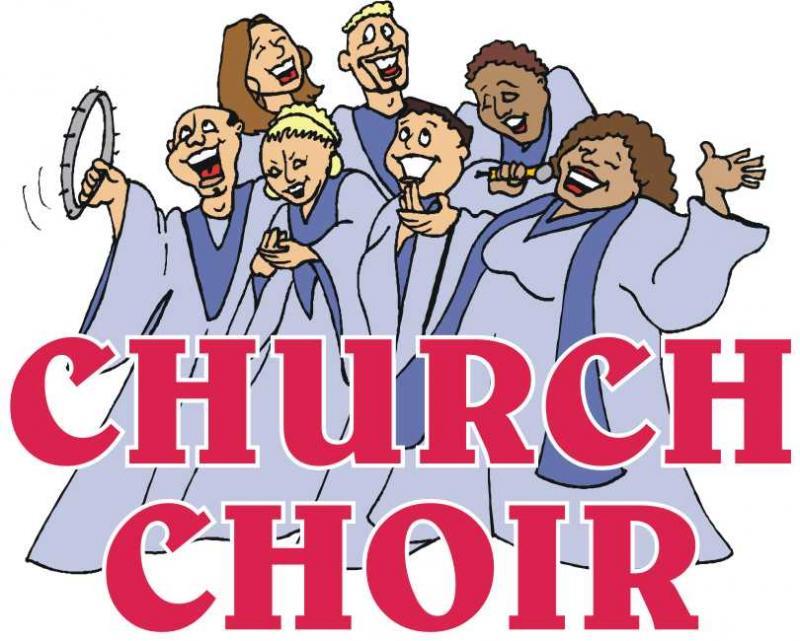Church Choir Singing Clipart - Clipart Kid