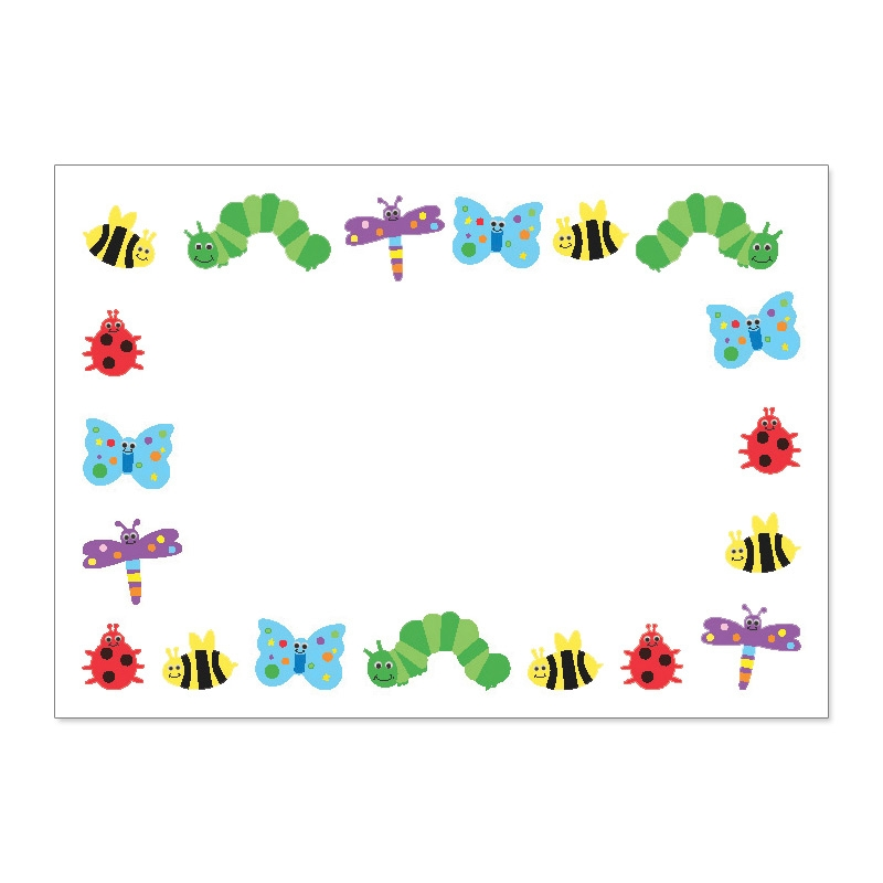 Cute And Colorful Bug Border   Clipart Panda   Free Clipart Images