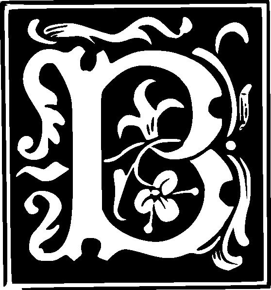 decorative letter clip art symbols fancy alphabet cliparts