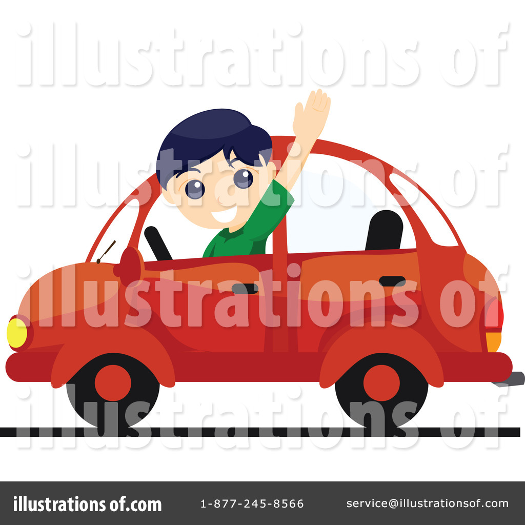 Driving Clipart  74162 By Bnp Design Studio   Royalty Free  Rf  Stock