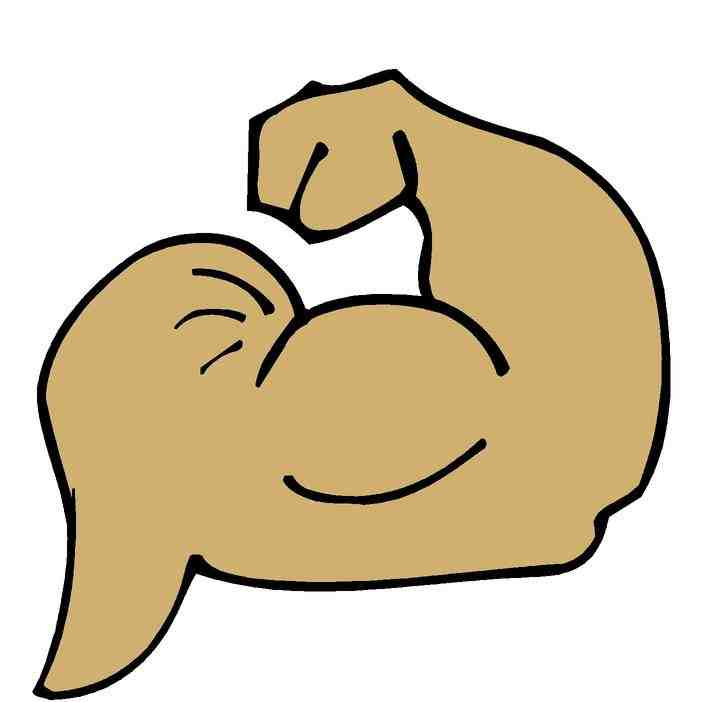Muscular Clipart - Clipart Kid