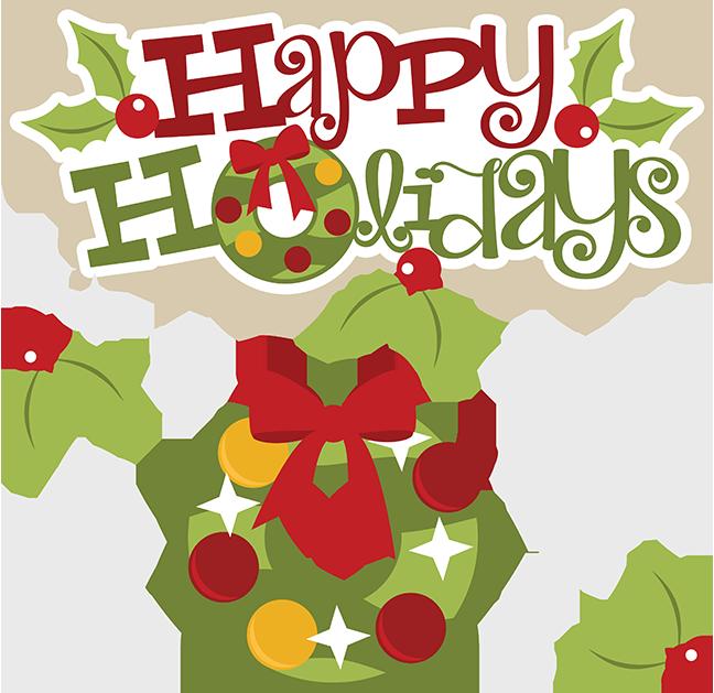 Clip Art Happy Holiday Clip Art christmas happy holidays clipart kid greeting