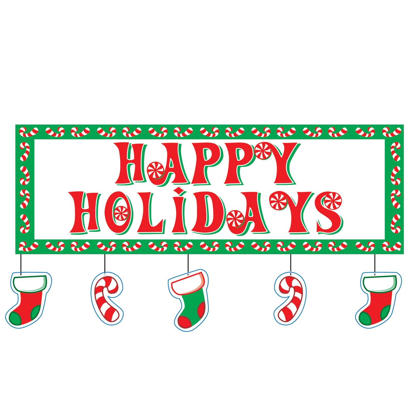 Happy Holidays' Border Clipart - Clipart Kid