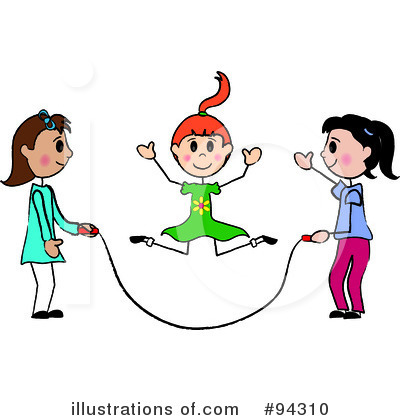 Jump Rope For Heart Clipart Royalty Free  Rf  Jump Rope