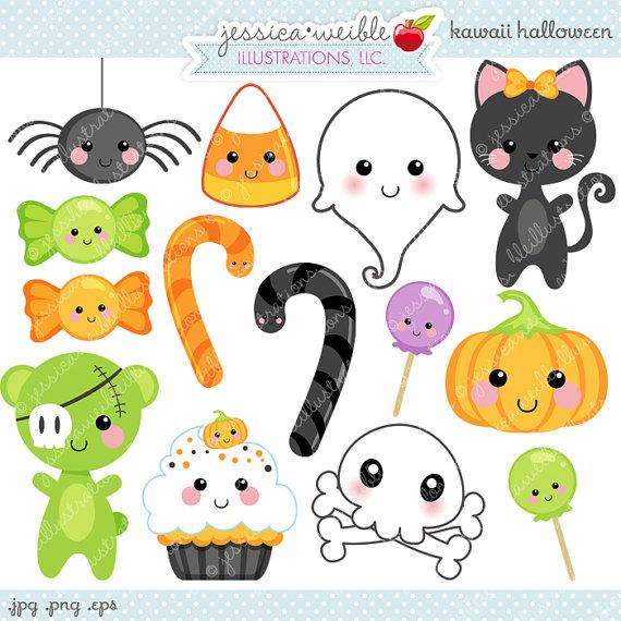 Cute Halloween Candy Clipart - Clipart Kid
