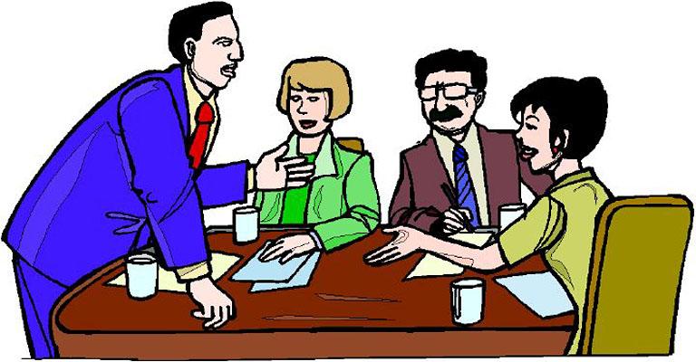 Group Meeting Clip Art