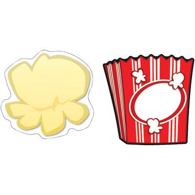Popcorn Border Clipart - Clipart Suggest
