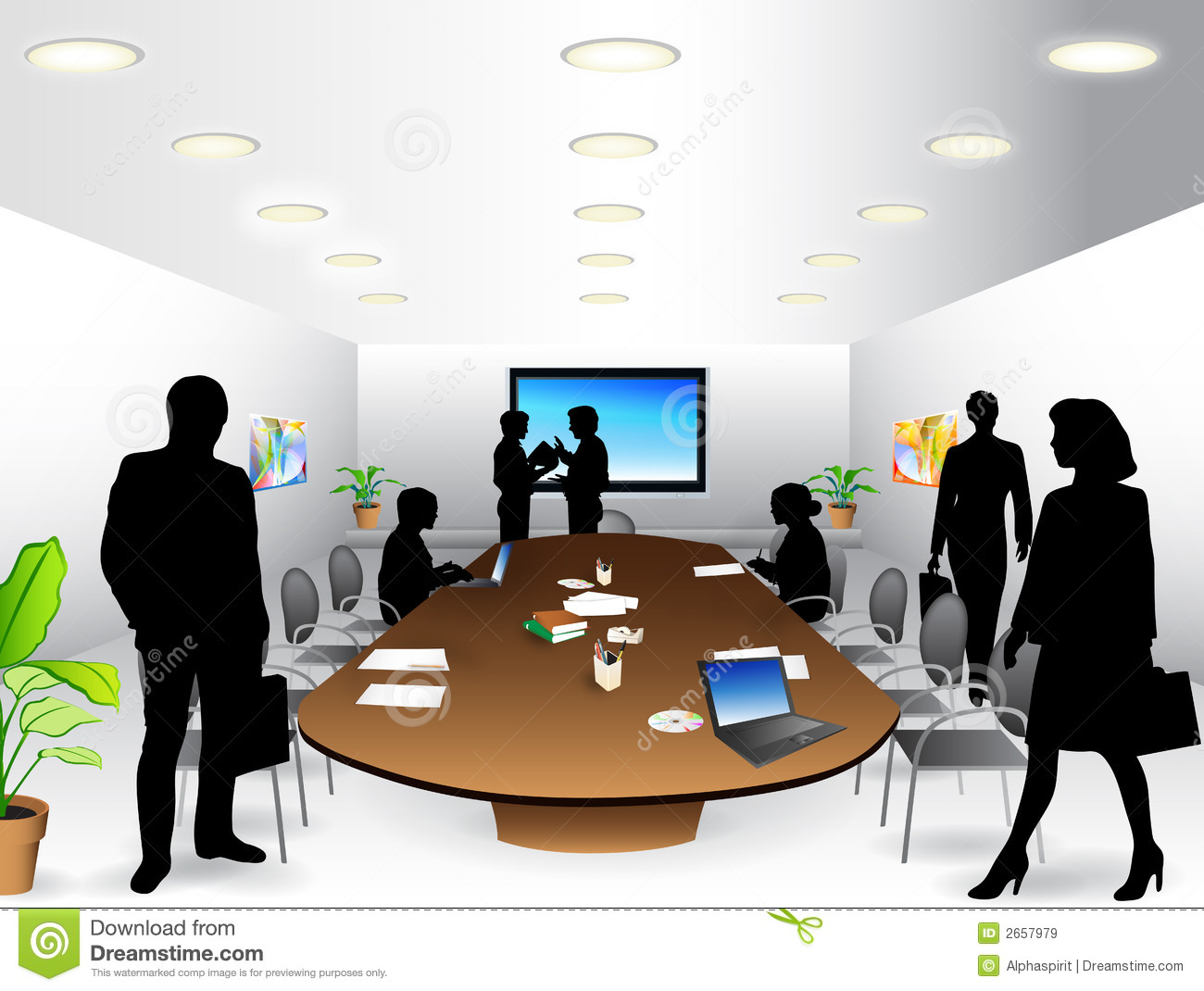 conference room clipart free - photo #3