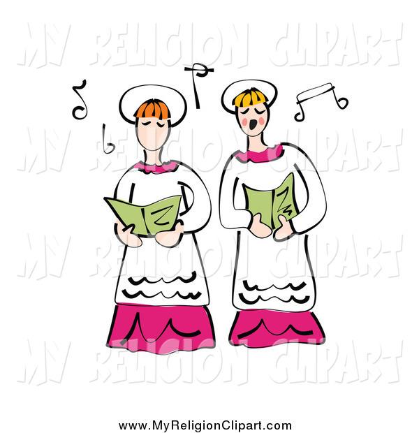 clip art church choir singing - photo #8