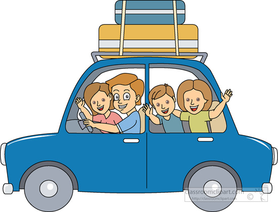Travel   Family Summer Vacation 01   Classroom Clipart