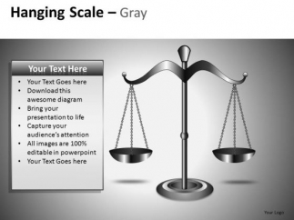 Weighing Scale Powerpoint Clipart Graphics Slides Will Do The Deed
