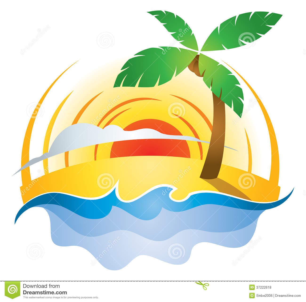 Sunset Logo Clipart - Clipart Suggest