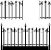 Chain Link Fence Gate Clipart Gate And Fence   Clipart