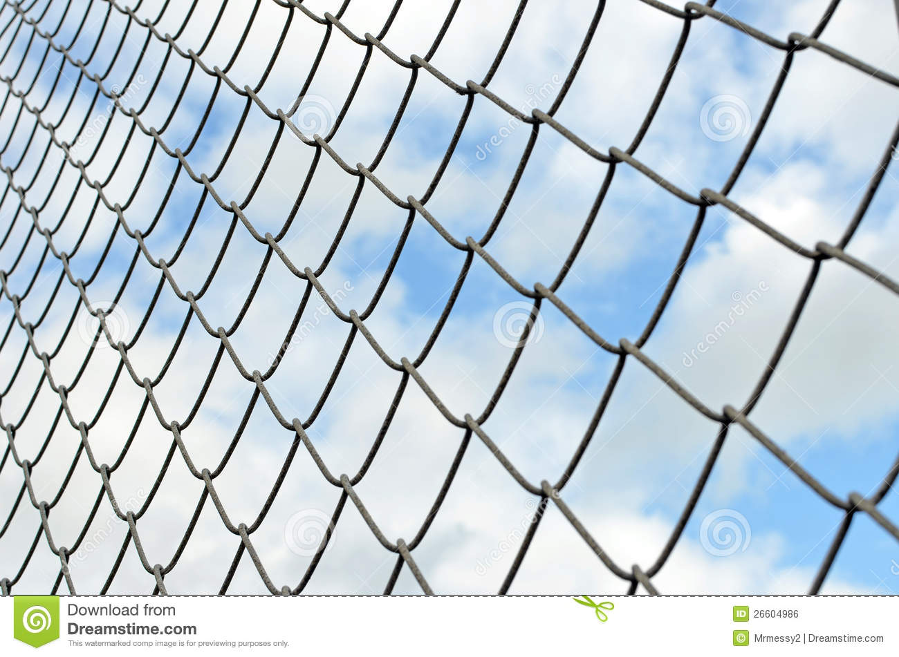 Chainlink Fence Royalty Free Stock Image   Image  26604986