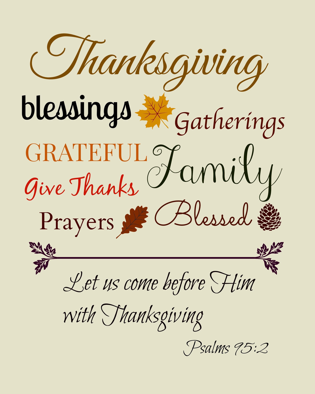 Thanksgiving Bible Verses Clipart - Clipart Kid
