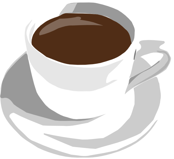 Cup Of Coffee Clip Art At Clker Com   Vector Clip Art Online Royalty